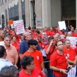 Verizon had a real life negotiation with the CWA and IBEW